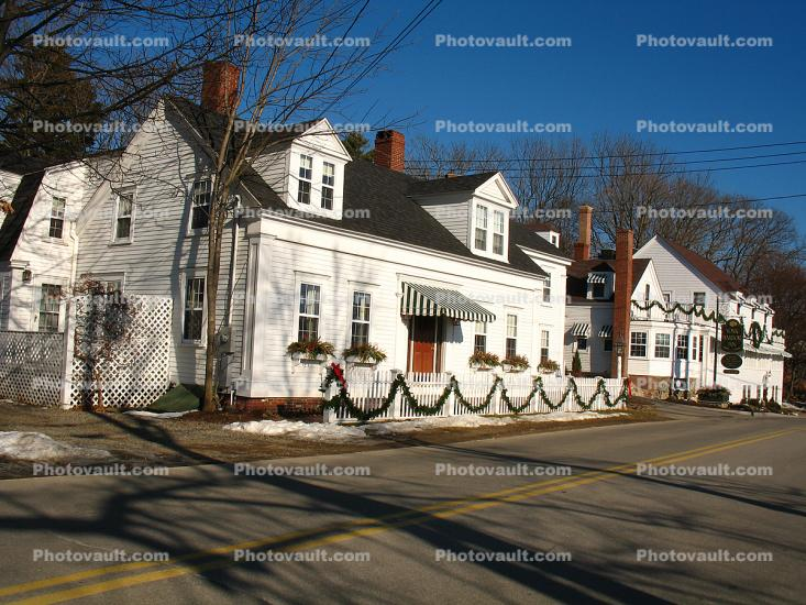 White Picket Fence, Home, House, Porch, single family dwelling unit, building