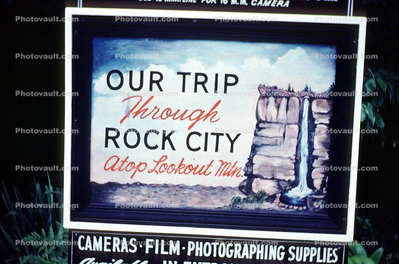 Rock City, Lookout Mountain