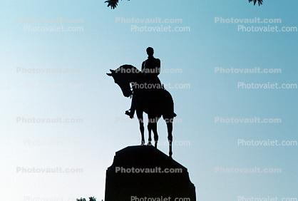 General Sherman Memorial, horse, victor of the Civil War, Statue, Statuary, Sculpture, William Tecumseh Sherman