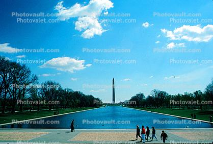 Washington Monument, Reflecting Pool