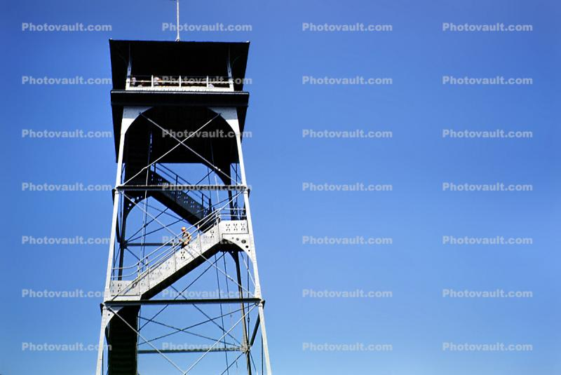 Watch Tower, Gettysburg, Observation Tower, Steps, Stairs