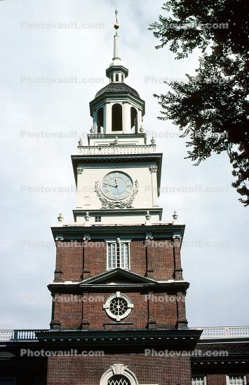Independence Hall, Clock Tower, Steeple