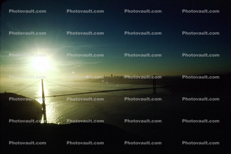 Early Morning, sunrise, Golden Gate Bridge