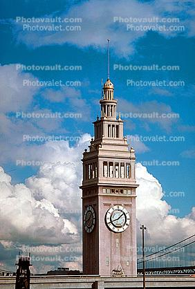Ferry Building Tower, clock