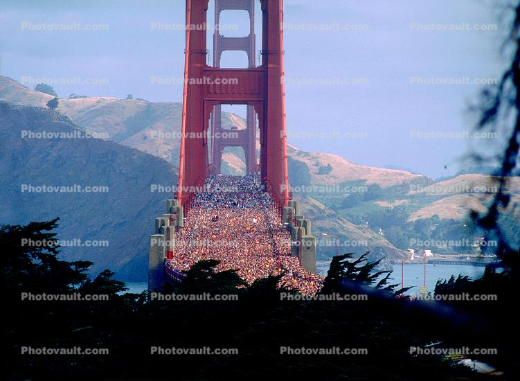 50th anniversary celebration, Golden Gate Bridge, May 24th, 1987, 1980s