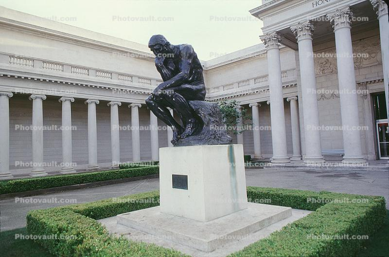 The Thinker, California Palace of the Legion of Honor