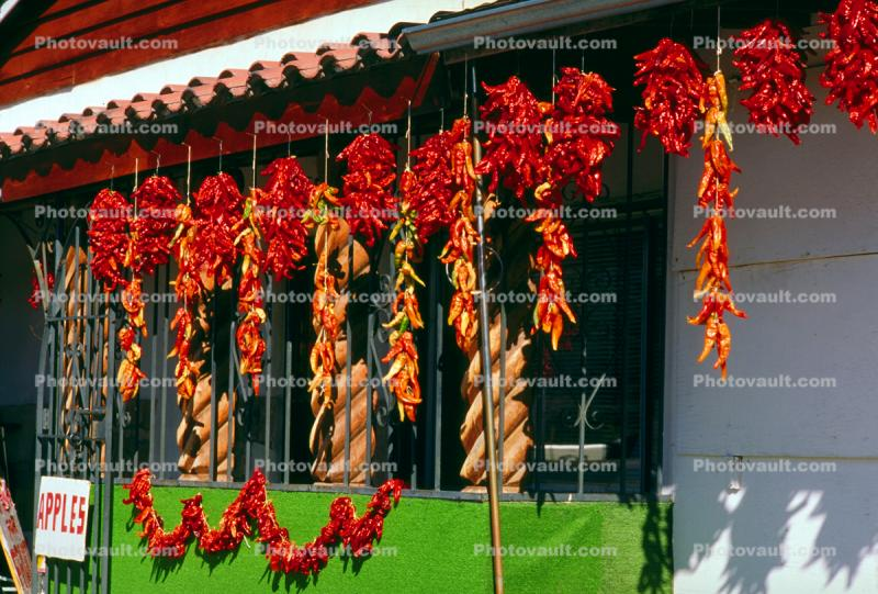 Ristra, Hanging Chili Pepper Pods