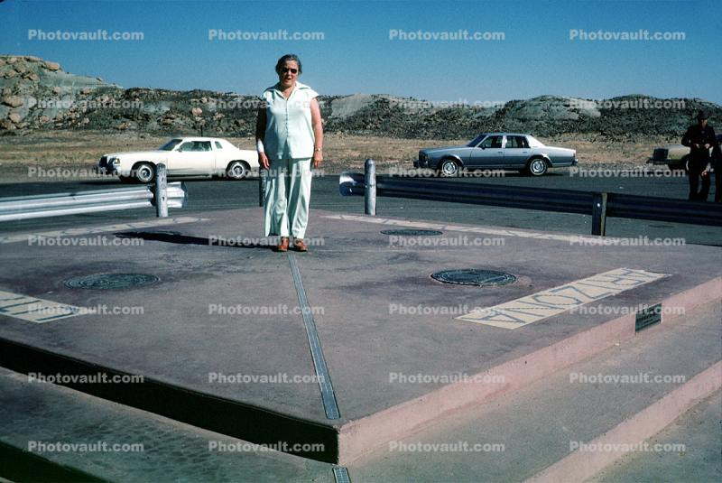 Four Corners Monument, Cars, Vehicles, 1970s