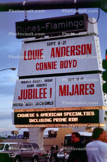 Louie Anderson, Connie Boyd, sign