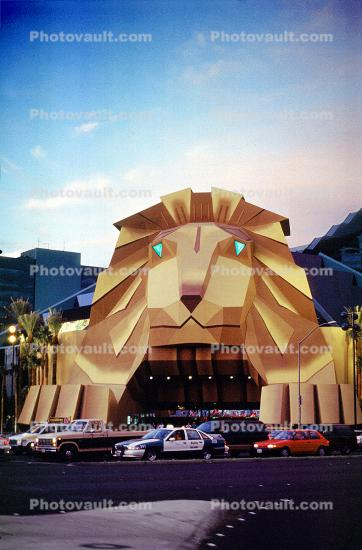 MGM Grand Hotel Entrance, Lion Face, Cars, vehicles, Automobile