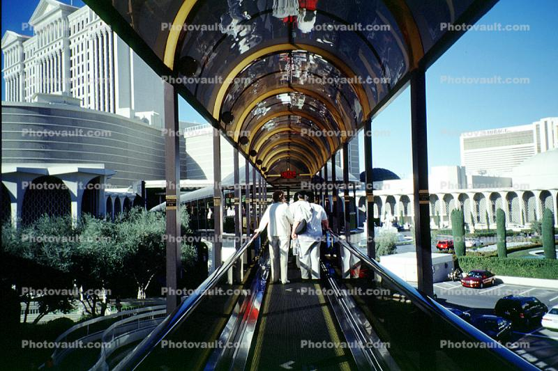 moving walkway, Hotel, Casino, building