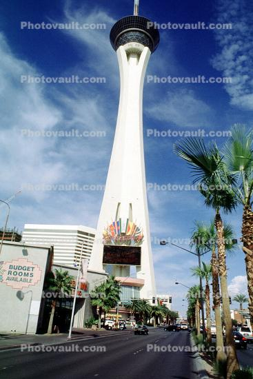 The Stratosphere, hotel, casino, building, tower
