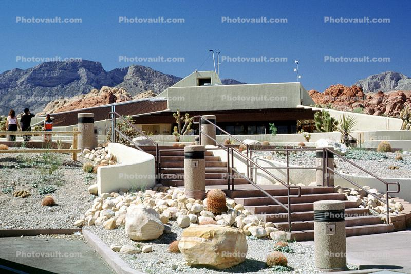 Red Rock Canyon Visitor Center, steps, stairs, building