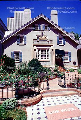Lion House, home, building, large residence built by Brigham Young