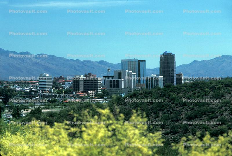 Cityscape, Skyline, Building, Skyscraper, Downtown, Tucson