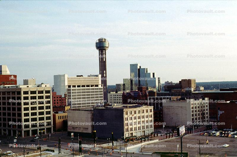 Reunion Tower, Downtown buildings, Observation Tower
