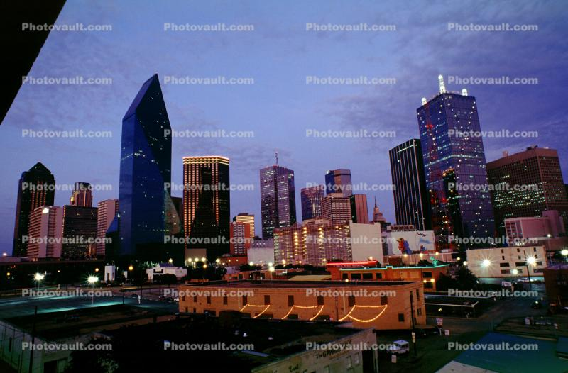 Dallas, Twilight, Dusk, Dawn