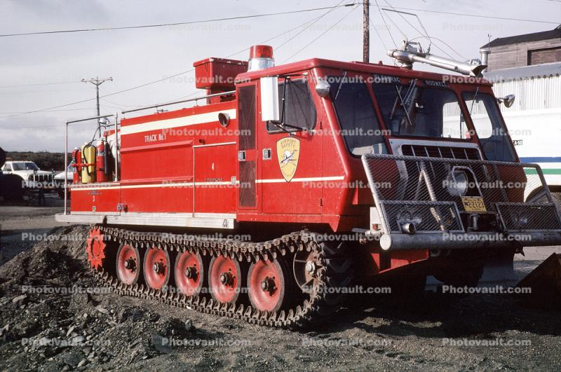 Tracked Vehicle, Flextrac Nodwell, Airport Safety Vehicle, Alaska