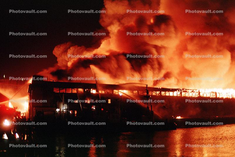 Pier 30 fire, San Francisco