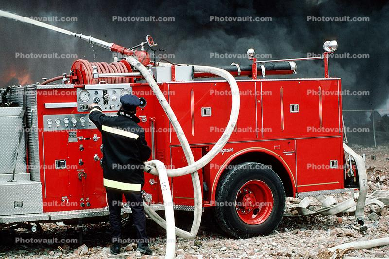 Seagrave Truck, Fire Engine