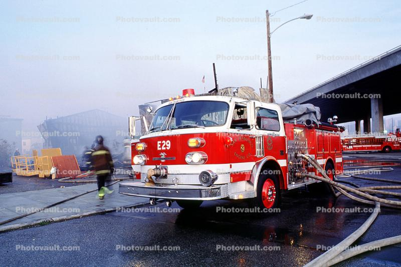 Potrero Hill, American LaFrance, Fire Engine