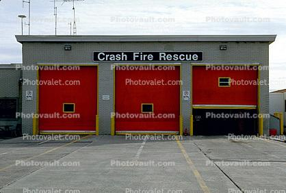 Crash Fire Rescue, Garage Doors
