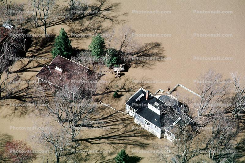 Flooded Home, House, Louisville, Kentucky