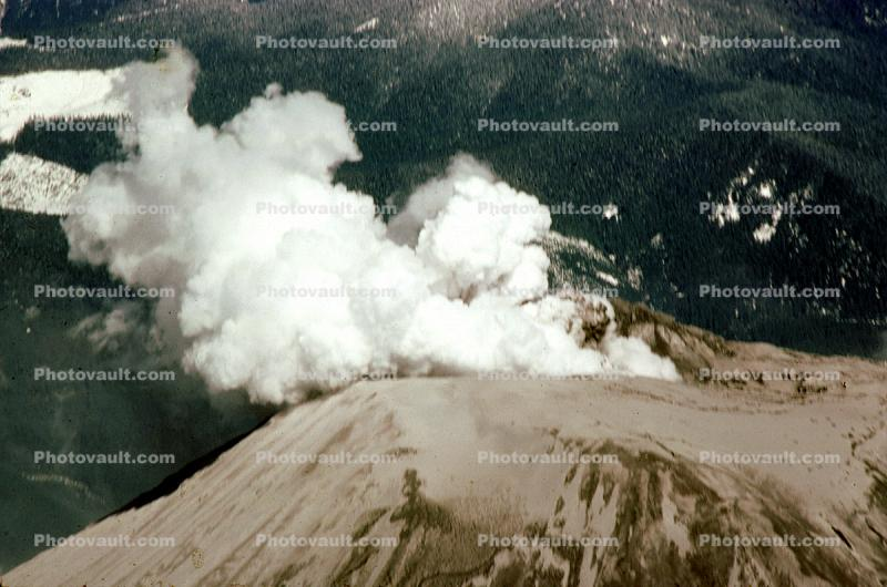Peak, Geothermal Feature, Smoke