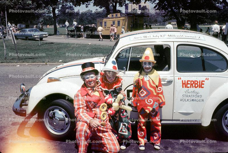 Herbie the Volkswagen, Clowns