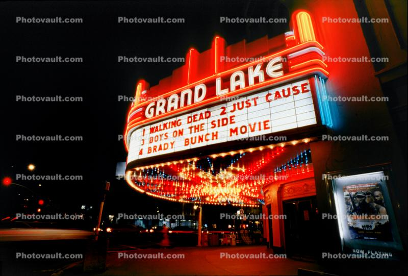 Grand Lake, marquee
