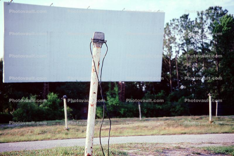 Drive-In, Screen, Empty