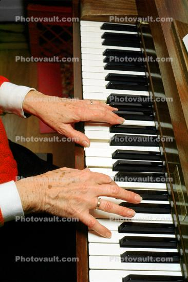 Piano, keys, keyboard, hands