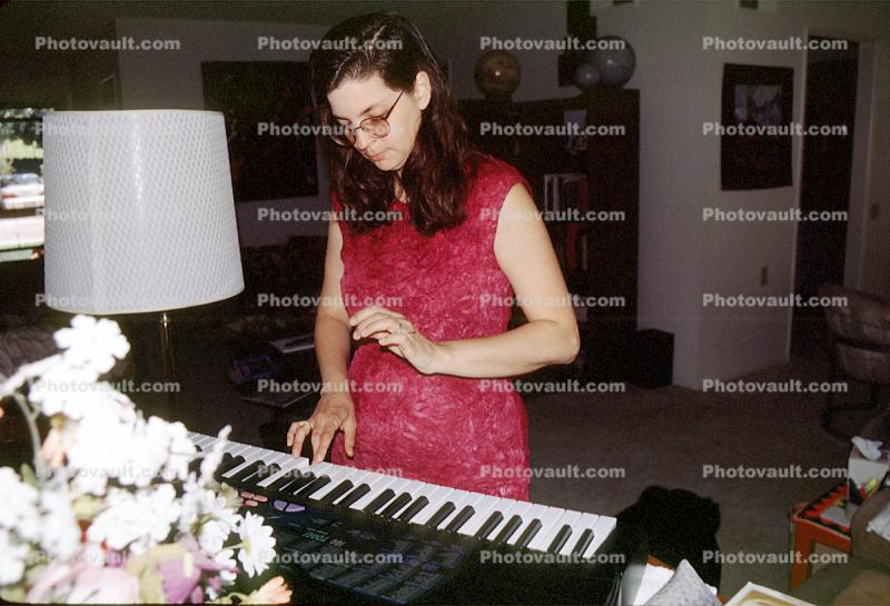 Electric Piano, keys, keyboard, hands, arms