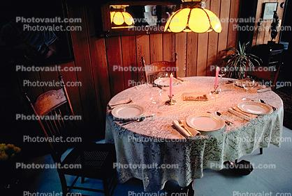 Table Setting, Dinner, Chairs, Furniture