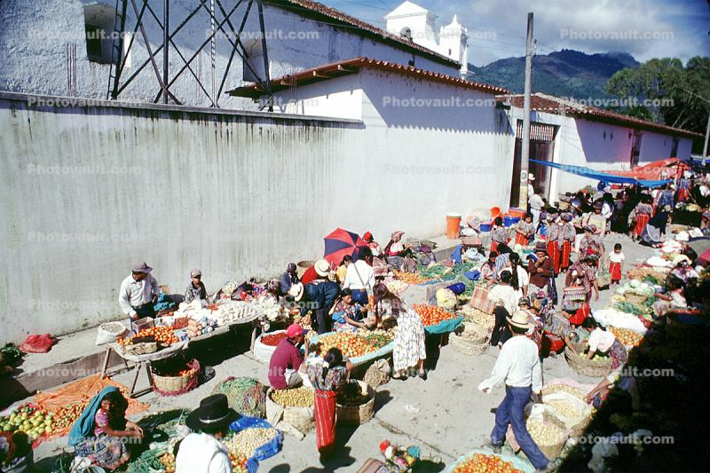 Shoppers, Open Air Market, Nebaj, Guatemala