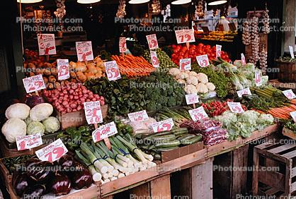 Farmers Market, Vegetables, Produce