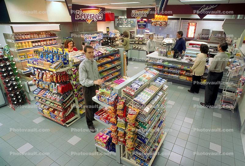 C-Store, Convenience Store, Snack Food