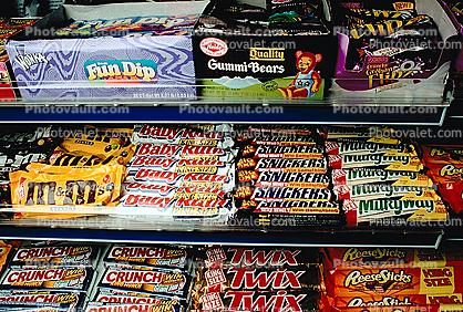 Convenience Store, Candy, Sweets, Sugar, C-Store, Snack Food