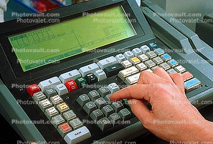 Cash Register, Convenience Store, C-Store, cash, cashier, transaction, keypad