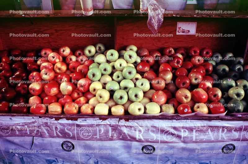 Apples, texture, background