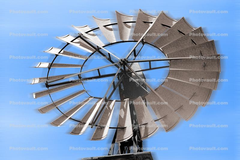 Eclipse Windmill, Irrigation, mechanical power, pump, Sonoma County