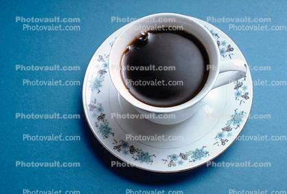 Coffee Cup, saucer, full, plate, dishes