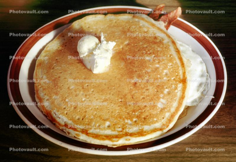 pancake, butter, carbs, carbohydrates, plate, Breakfast