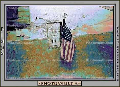 Old Glory, USA, United States of America, American, Wall Socket