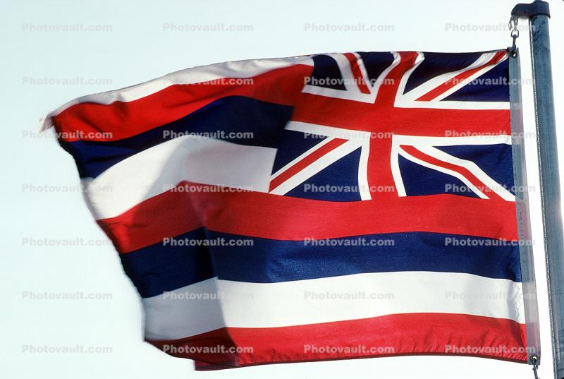 Hawaii, State Flag, USA, Fifty State Flags