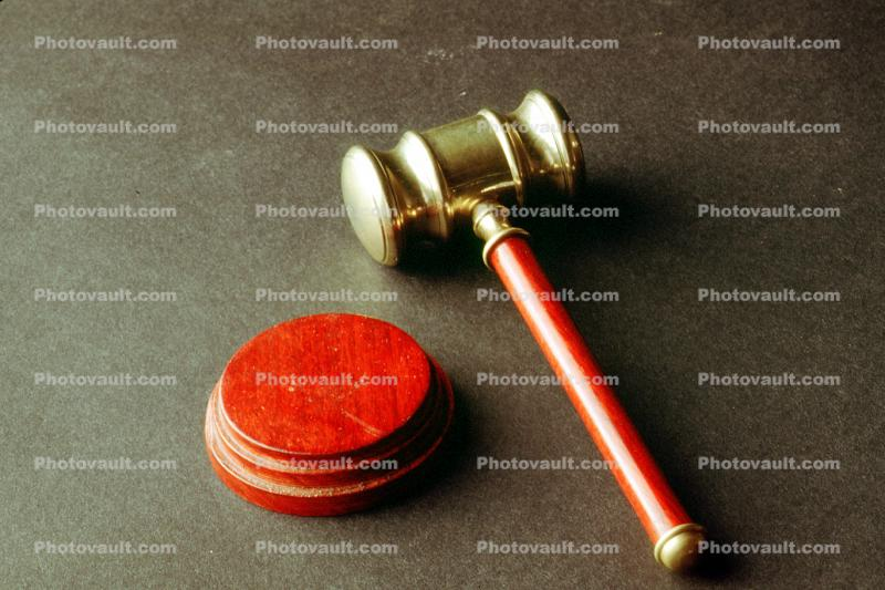 Sounding Block, Gavel, Mallet, Handle