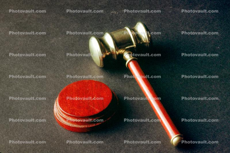 Gavel, Mallet, Handle, Sounding Block