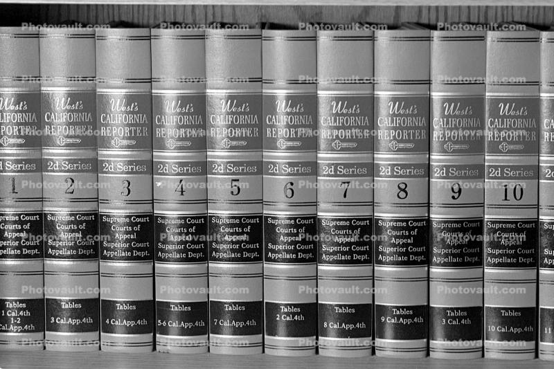 Law books, Library