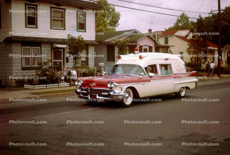 Cadillac Ambulance, 1958 Miller Meteor, 1950s