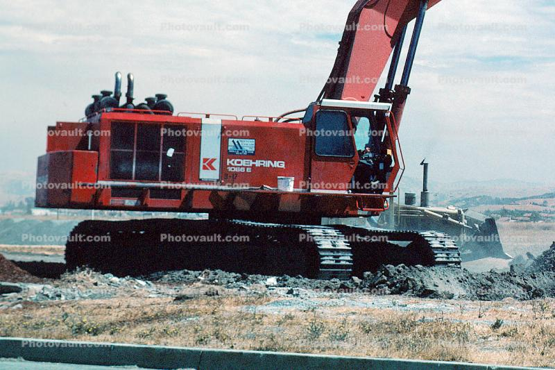 Koehring 1066E Hydraulic Excavator, tracked